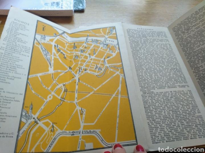 Folletos de turismo: Lote de 3 folletos turísticos de Zaragoza de 1960 - Foto 2 - 268982204