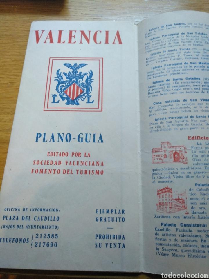 Folletos de turismo: Folleto de turismo de Valencia 1958 - Foto 2 - 268982479