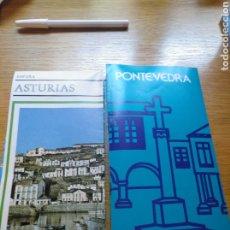 Folletos de turismo: FOLLETOS DE ASTURIAS Y DE PONTEVEDRA. AÑOS 70. Lote 268983289