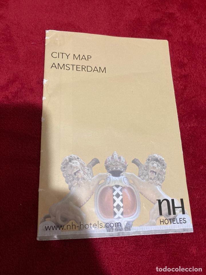 Folletos de turismo: Mapa ciudad de Amsterdand NH Hotels - Foto 2 - 268983999