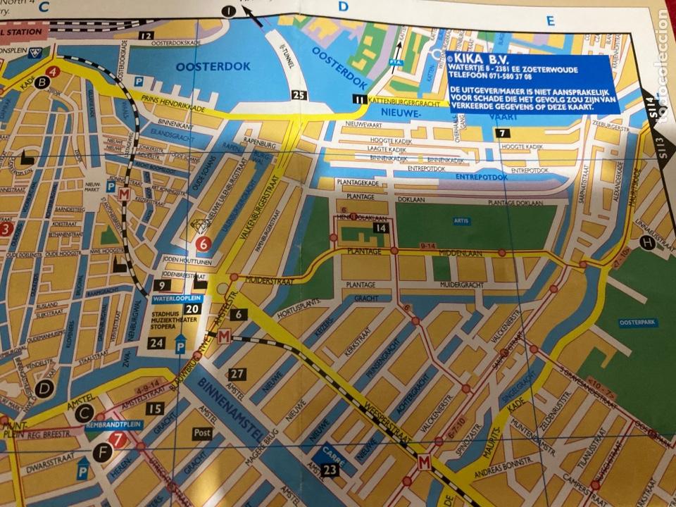 Folletos de turismo: Mapa ciudad de Amsterdand NH Hotels - Foto 4 - 268983999