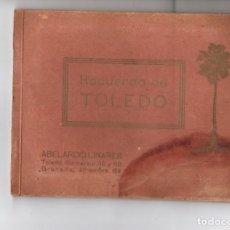 Folletos de turismo: RECUERDO DE TOLEDO. ABELARDO LINARES. Lote 269060213