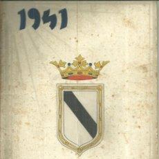 Folletos de turismo: 3631.- GIBRALEON-HUELVA-OLONT 1941-REVISTA DEDICADA AL PUEBLO DE GIBRALEON. Lote 269071518