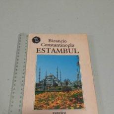 Folletos de turismo: BIZANCIO CONSTANTINOPLA ESTAMBUL. Lote 269959423