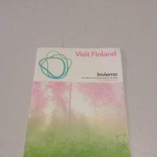 Folletos de turismo: FOLLETO DE FINLANDIA. Lote 269960263