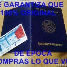 Foglietti di turismo: EXPO 92 SEVILLA PASAPORTE MUCHOS SELLOS PABELLONES U51. Lote 275780968