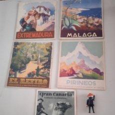 Brochures de tourisme: FOLLETOS PROVINCIALES DE TURISMO AÑOS 60. Lote 277000548
