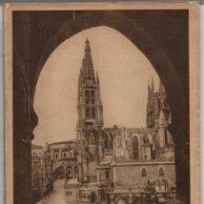 Folletos de turismo: ENCICLOPEDIA GRAFICA BURGOS. EDITORIAL CERVANTES 1930. Lote 277008143