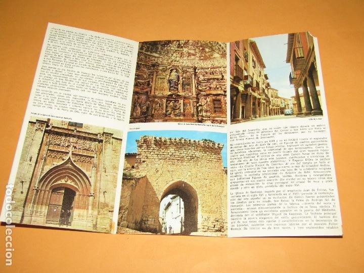 Folletos de turismo: Catálogo Publicitario de MEDINA DE RIOSECO por el Ministerio de Información y Turismo - Año 1960s - Foto 3 - 277184723