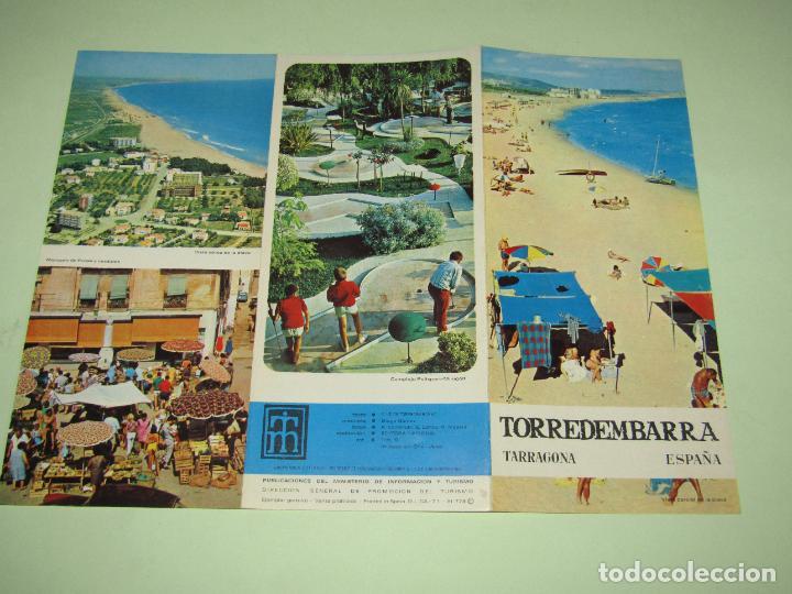 Folletos de turismo: Catálogo Publicitario de TORREDEMBARRA por el Ministerio de Información y Turismo - Año 1960s - Foto 2 - 277185058