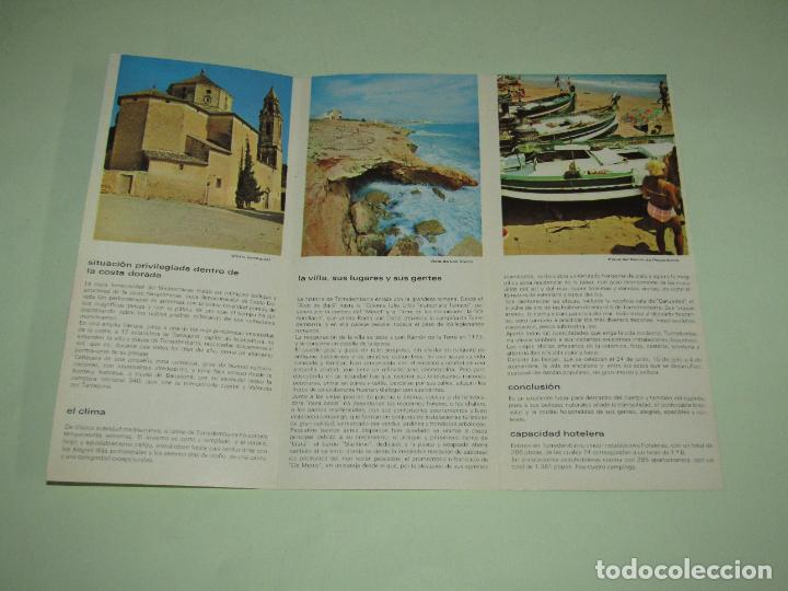 Folletos de turismo: Catálogo Publicitario de TORREDEMBARRA por el Ministerio de Información y Turismo - Año 1960s - Foto 3 - 277185058