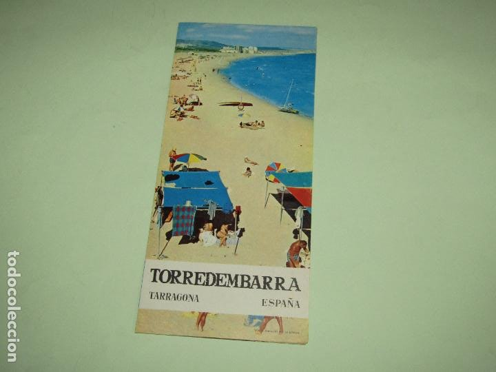 CATÁLOGO PUBLICITARIO DE TORREDEMBARRA POR EL MINISTERIO DE INFORMACIÓN Y TURISMO - AÑO 1960S (Coleccionismo - Folletos de Turismo)