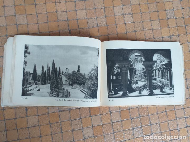Folletos de turismo: MONTSERRAT, ANTIGUO ÁLBUM DE 102 VISTAS, FOTOGRAFIAS guia practica . MEDIDA: 19 X 14 CM - Foto 3 - 277721713