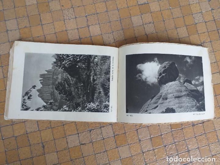 Folletos de turismo: MONTSERRAT, ANTIGUO ÁLBUM DE 102 VISTAS, FOTOGRAFIAS guia practica . MEDIDA: 19 X 14 CM - Foto 6 - 277721713