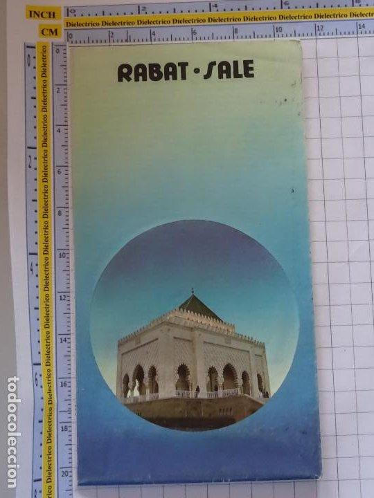 DOCUMENTO FOLLETO TURÍSTICO. MARRUECOS RABAT SALE. 40GR. 74 (Coleccionismo - Folletos de Turismo)