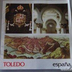 Folletos de turismo: DOCUMENTO FOLLETO TURÍSTICO. TOLEDO. 1982 SECRETARIA TURISMO. 50GR. 91. Lote 278532863