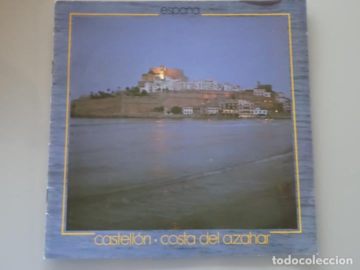 DOCUMENTO FOLLETO TURÍSTICO. CASTELLÓN COSTA AZAHAR. 1981 SECRETARIA TURISMO. 60GR. 92 (Coleccionismo - Folletos de Turismo)