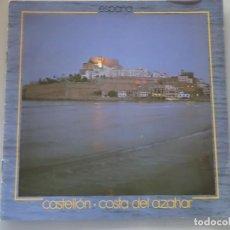 Folletos de turismo: DOCUMENTO FOLLETO TURÍSTICO. CASTELLÓN COSTA AZAHAR. 1981 SECRETARIA TURISMO. 60GR. 92. Lote 278532923