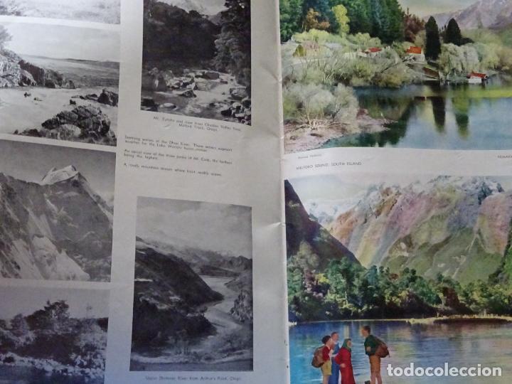 Folletos de turismo: DOCUMENTO FOLLETO TURÍSTICO. REVISTA DE FOTOS POSTALES DE NUEVA ZELANDA. 250GR. 97 - Foto 2 - 278533493