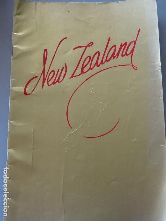 DOCUMENTO FOLLETO TURÍSTICO. REVISTA DE FOTOS POSTALES DE NUEVA ZELANDA. 250GR. 97 (Coleccionismo - Folletos de Turismo)