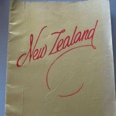 Folletos de turismo: DOCUMENTO FOLLETO TURÍSTICO. REVISTA DE FOTOS POSTALES DE NUEVA ZELANDA. 250GR. 97. Lote 278533493