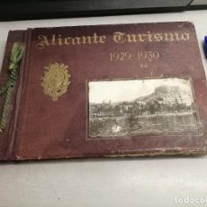 Folletos de turismo: ALICANTE TURISMO 1929 - 1930 / EL MONAGUILLO - BERNABÉ BIOSCA - ALICANTE. Lote 279513028