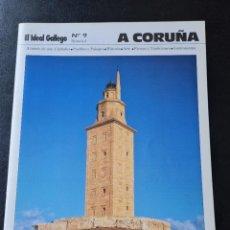 Folletos de turismo: 15 FASCICULOS DE A CORUÑA. Lote 280584383