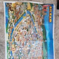 Folletos de turismo: PROMOCIÓN TURÍSTICA BILBAO. BILBAO RIA 2000. NUEVO PUERTO. Lote 280725113