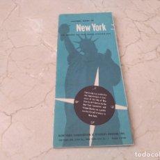 Folletos de turismo: GUIA PARA VISITANTES DE NUEVA YORK 1950. VISITORS GUIDE TO NEW YORK '50. Lote 283315068