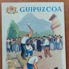 Folletos de turismo: GUIPUZCOA SAN SEBASTIAN 1947. FOLLETO TURISTICO ILUSTRADO. Lote 283378918