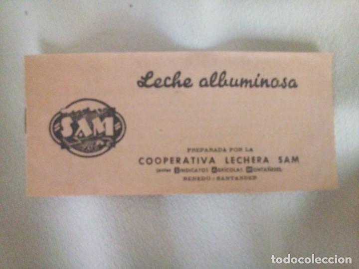 COOPERATIVA LECHERA; ALBUMINOSA; FOLLETO (Coleccionismo - Folletos de Turismo)