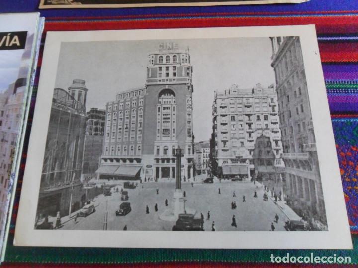 Folletos de turismo: DOSSIER GRAN VÍA DE MADRID ORDEN DE CONSTRUCCIÓN 1910 INAUGURACIÓN CINE CAPITOL FOTO CALLAO PLANO... - Foto 2 - 288320623