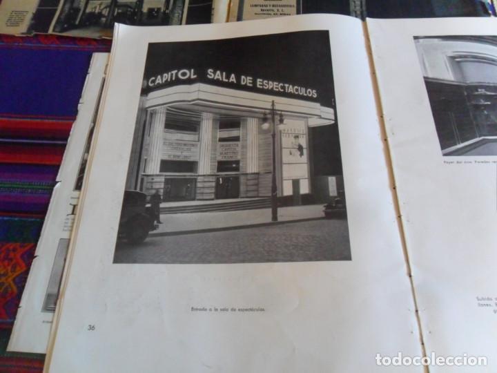 Folletos de turismo: DOSSIER GRAN VÍA DE MADRID ORDEN DE CONSTRUCCIÓN 1910 INAUGURACIÓN CINE CAPITOL FOTO CALLAO PLANO... - Foto 12 - 288320623