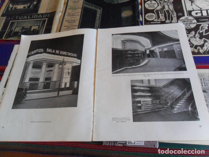 Folletos de turismo: DOSSIER GRAN VÍA DE MADRID ORDEN DE CONSTRUCCIÓN 1910 INAUGURACIÓN CINE CAPITOL FOTO CALLAO PLANO... - Foto 13 - 288320623
