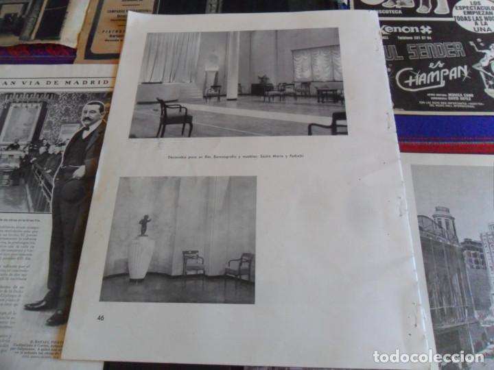 Folletos de turismo: DOSSIER GRAN VÍA DE MADRID ORDEN DE CONSTRUCCIÓN 1910 INAUGURACIÓN CINE CAPITOL FOTO CALLAO PLANO... - Foto 16 - 288320623
