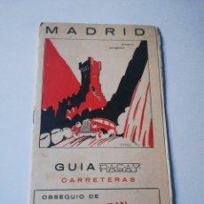 Folletos de turismo: GUÍA RAGAY CARRETERAS. MADRID.. Lote 293425428