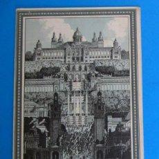 Folletos de turismo: PLANO DE LA EXPOSICIÓN INTERNACIONAL DE BARCELONA, 1929. RIUSSET S.A. BARCELONA.. Lote 295308303