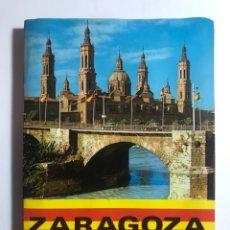 Folletos de turismo: PLANO CALLEJERO DE ZARAGOZA. Lote 296065148