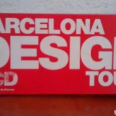 Folletos de turismo: BARCELONA DESIGN TOUR. MAPA DE LOS LUGARES DE DISEÑO DE BARCELONA. PLANO DESPLEGABLE. (A1). Lote 297100448