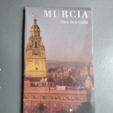 Folletos de turismo: MURCIA PLANO DE LA CIUDAD TURISTICO. Lote 297107963