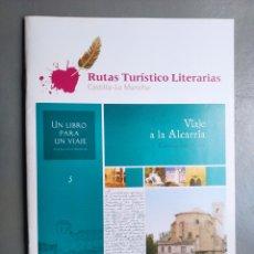 Folletos de turismo: FOLLETO TURISMO CASTILLA MANCHA RUTAS TURÍSTICO LITERARIAS 5. Lote 297109193