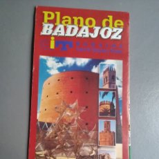 Folletos de turismo: PLANO TURISMO BADAJOZ. Lote 297112653
