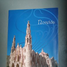 Folletos de turismo: FOLLETO TURISMO NOVELDA ALICANTE. Lote 297155613