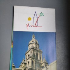 Folletos de turismo: MAPA TURISTICO MURCIA TURISMO. Lote 297156843