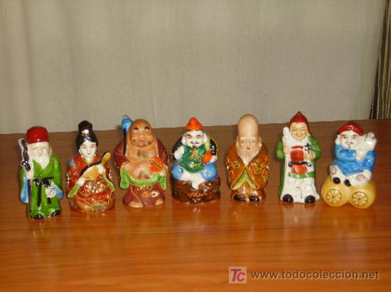 budas japoneses de porcelana de los 60 Comprar Porcelana China