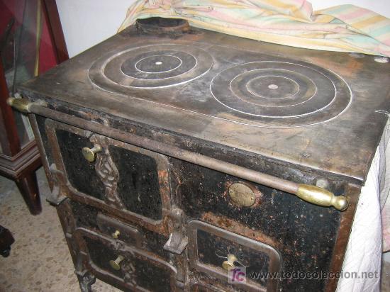 Cocina carbon hierro fundido comprar varias antig edades - Cocina de carbon ...