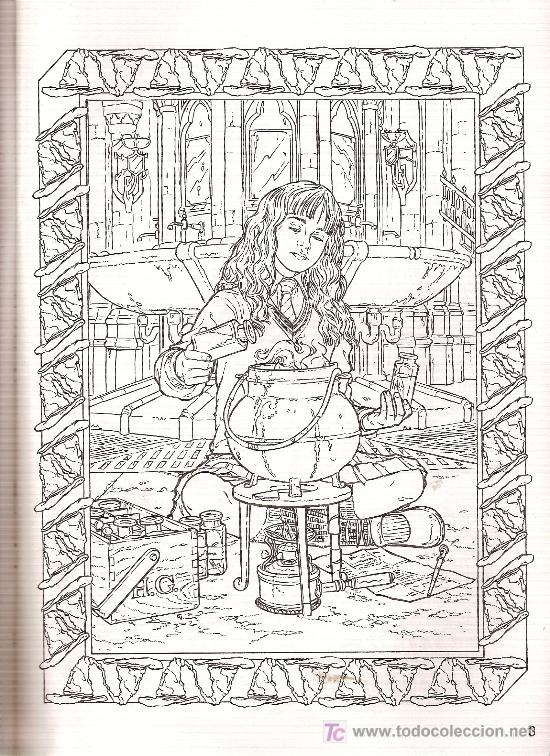 cuaderno para colorear de \'harry potter y la cá - Comprar en ...