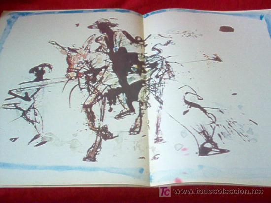 Resultado de imagen para como es el quijote ilustrado por dali