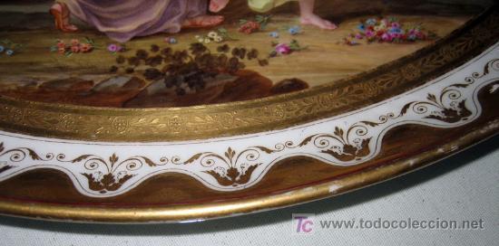 Bandeja de porcelana de la fabrica del buen ret comprar for Fabrica ceramica blanca