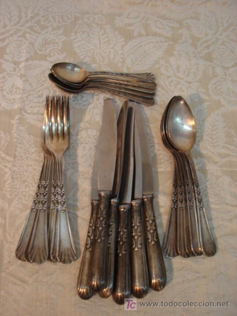 Cuberteria antigua ba ada en plata comprar en todocoleccion 7228608 - Cuberteria de plata precios ...